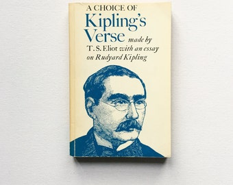 A choice of Kiplings Verse / by T. S. Eliot /1976 / Vintage and Collectable