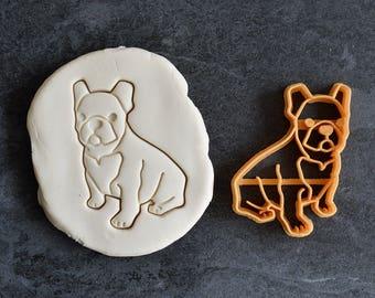 French bulldog cookie cutter - Bulldog cookie cutter - Bouledogue cookie cutter - Dog cookie cutter - Cookie cutter