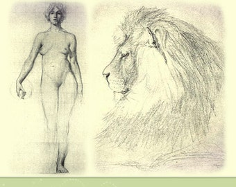 LEARN PENCIL SKETCHING How To Sketch Objects, Animals, Life, Architecture Rare illustrated Reference Book 194 pgs Printable Instant Download
