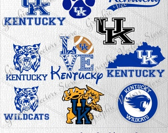Kentucky svg, University svg, Files for Silhouette, Files for Cricut, Print Files, Files for Cutting Machine.