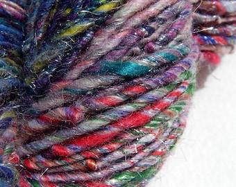 Fabulosity Bedlam 1-Multifiber Handspun Yarn