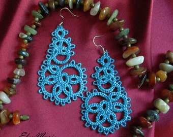 MACHINE EMBROIDERY DESIGN - Lace earrings, tatting earrings, earrings embroidery design, vintage lace, lace design, designs embroidery