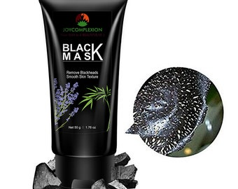 Activated Charcoal - Black Mask, Deep Cleansing & Purifying Peel Off FaceMask for Acne and Pore Cleaner