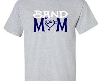 Band Mom Adult Unisex Tshirt