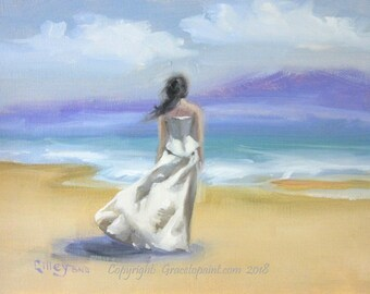 Allure...Original Oil Painting by Maresa Lilley, SND