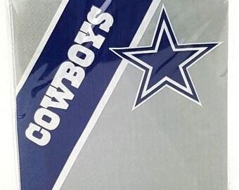 Dallas Cowboys Napkins 20 count Paper Napkins Party Supplies Tailgate NFL Football  sc 1 st  Etsy & Dallas cowboys party | Etsy