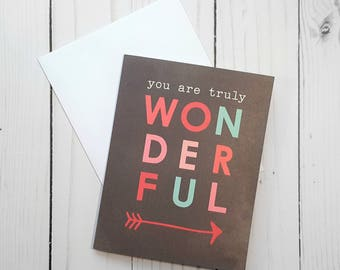 Valentines Day Card, Anniversary Card, Love Greeting Card, I Love You Card, Encouragement Card, Valentines Day Card, Arrow Card