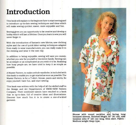 SALE* Kwik Sew pattern & Book, Sz 8-20/Bust 31.5-45\