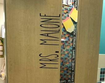 Vinyl Door Name