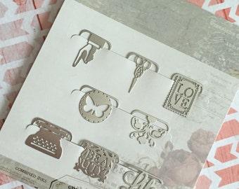 Metal Paperclips (No.1)  Cartographer Symbols