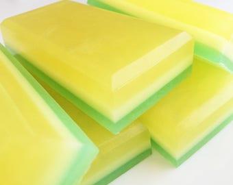 Pineapple Mint Soap Bar, Bath Soap, Handmade Soap, Glycerin Soap, Buttermilk Soap, Sulfate Free Soap