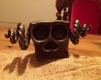 Skull with Antlers / Horns - ART - Dutch Design