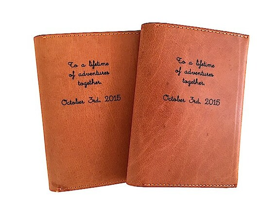 mr and mrs custom passport case passport holder bride and