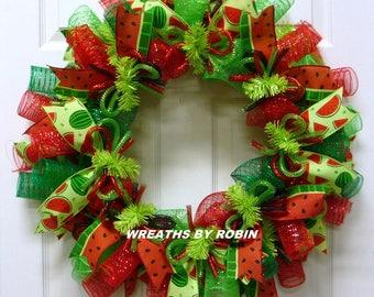 Water Melon Wreath, Summer Wreaths (2687)