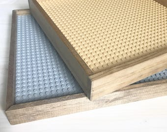 Lego tray for kids - custom lego tray - kids storage - kids tray - building blocks