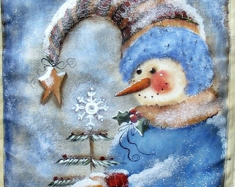 Snowman Whimsy, by Terrye French