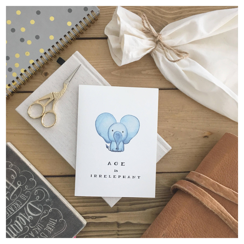 Elephant card funny birthday card birthday card cute birthday elephant card funny birthday card birthday card cute birthday card greeting card cute card cute elephant girlfriend birthday gift bookmarktalkfo Choice Image