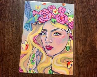 A4 Print- Anya