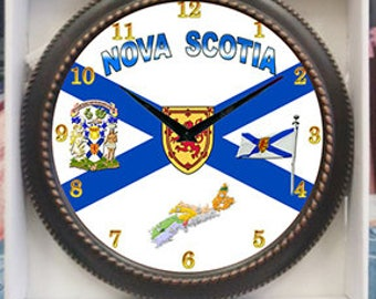 Nova Scotia  Decor wall Clock