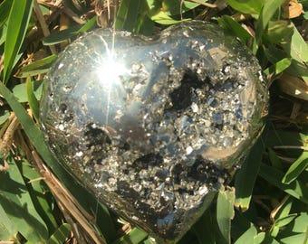 Small Pyrite Heart