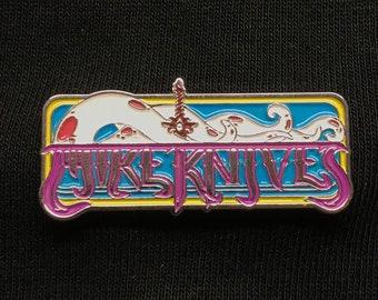 Mike Knives logo pin