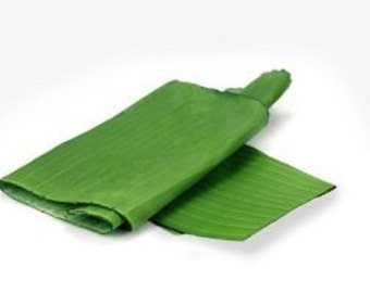 Banana Leaves Hoja De Platano for Cooking and Decoration 16oz Free shipping