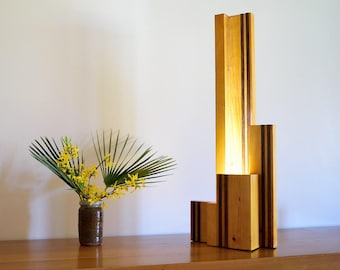 Solid Pine lamp