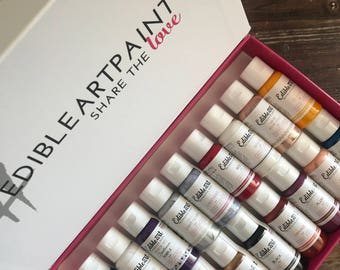 Edible Art Paint 100% Food Grade - In Stock & Ready to Ship