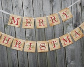 Items Similar To Merry Christmas Banner
