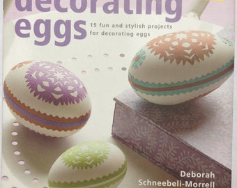 Easter egg art & craft book Decorating Eggs: 15 Fun and Stylish Projects NEW Sale last 2