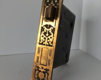 Antique Decorative Keyed Mortise Lock, E0047