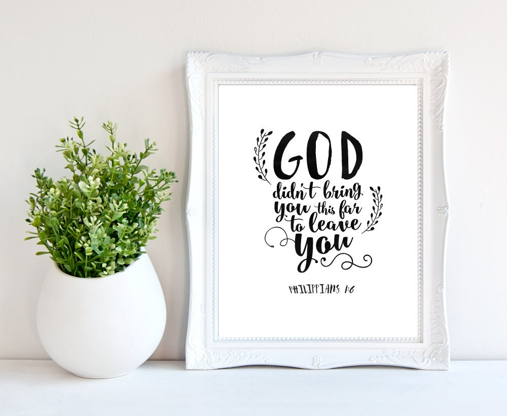 Philippians 1 6printable God Quoteschristian Quotegod # Muebles Filipenses