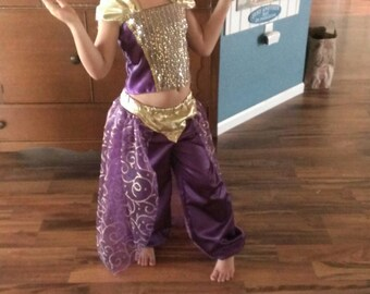 Princess Jasmine's Purple Formal outfit