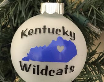 University Kentucky ornament