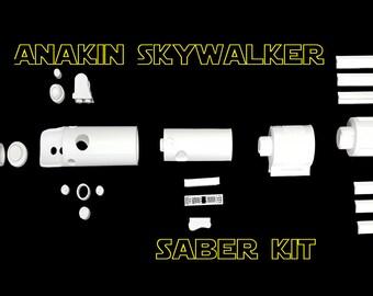 1:1 Scale Anakin Skywalker Lightsaber Kit - Star Wars The Force Awakens Inspired