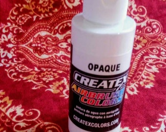Createx ~Airbrush Paint - Opaque White (2 oz, 16 oz, or 32 oz)