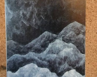Dark Mountains print