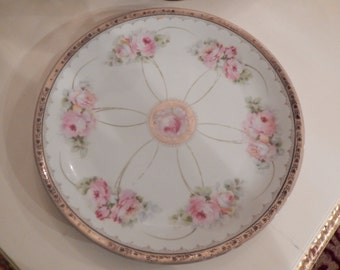 BAVARIA PINK ROSE Plate