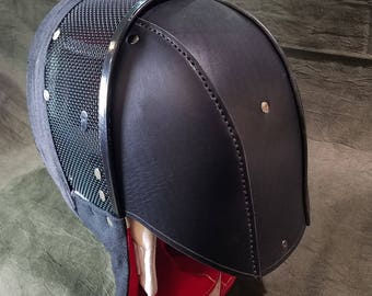 Leather Back Of the Head Protection