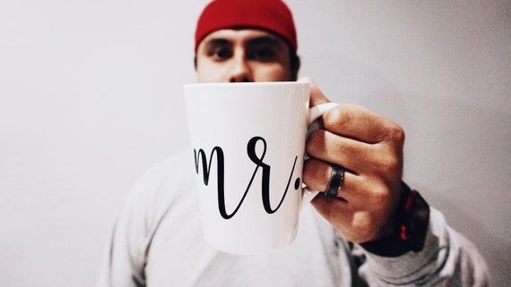 Mr. mug | Groom Mug | future mr. mug | husband mug
