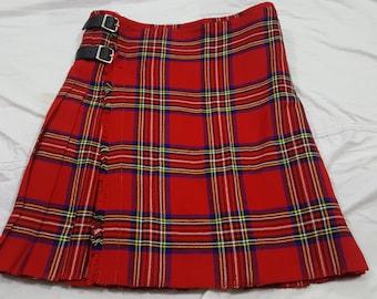 SALE START Royal Stewart Tartan kilt Custom Made Size Length