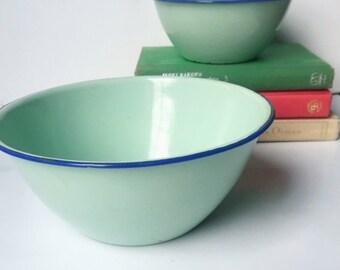 Nevco Enamelware Nesting Bowls 1765-6