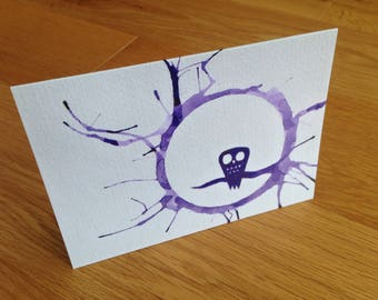 Night Owl : Greeting Card