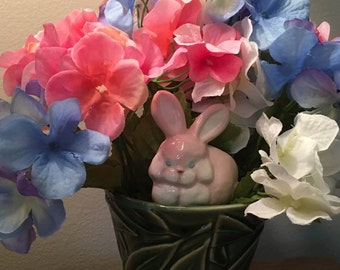 Wholesale Plant Picks Spikes 28 Handmade Ceramic Bunnies Baby Shower New Baby Easter