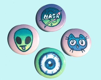 Neon Buttons