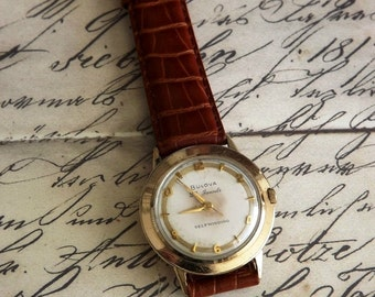 Vintage Bulova Wrist Watch by avintageobsession on etsy...20% Discount