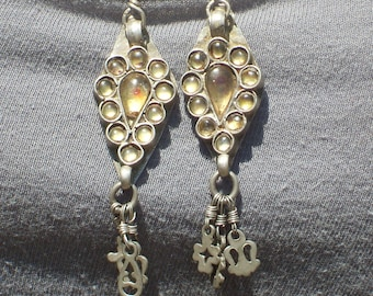 Ethnic Afghan Hippie Dangle Earrings