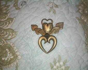 Vintage Valentine Pendant