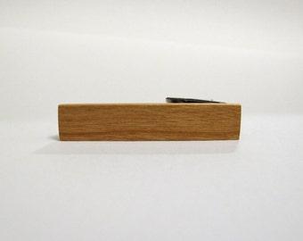Wood Tie Clip