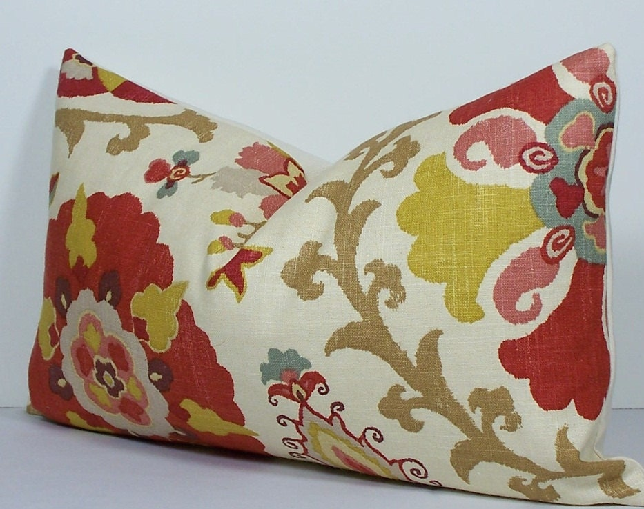 lumbar throw zoom silsila listing cover pillow red fullxfull il decor suzani decorative